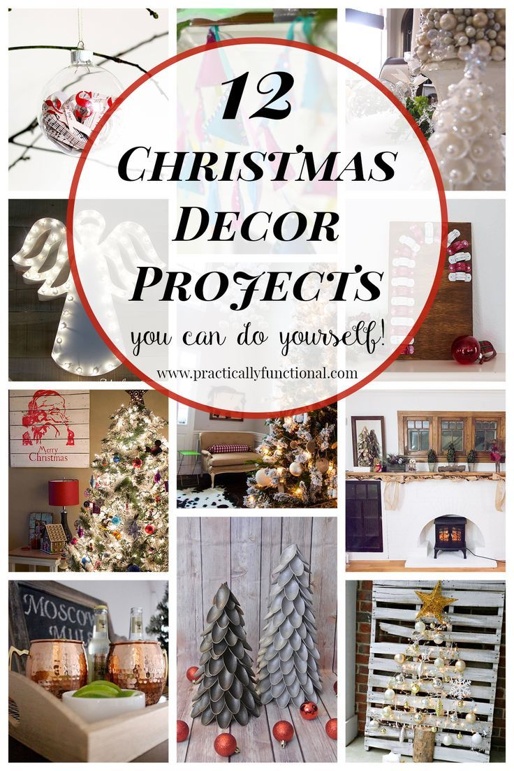 12 diy christmas decor projects diy christmas christmas dcor and 12 diy christmas decor projects solutioingenieria Images