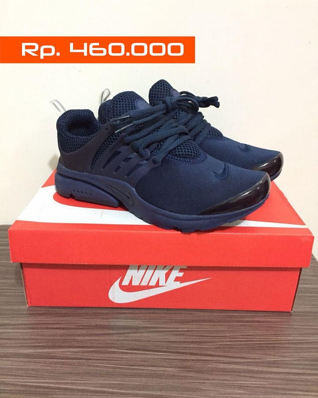 Ready Stock Sepatu Running Air Presto Triple Navy Size 37 44 100 Original Price