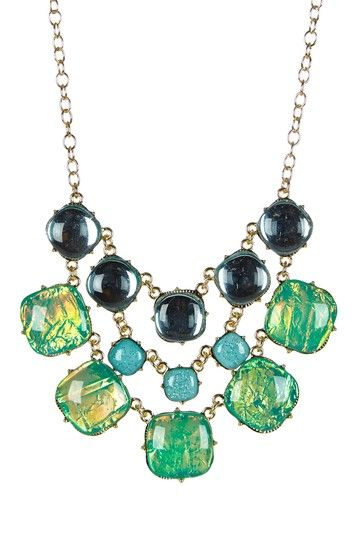 Galaxy Statement Necklace by Monique Leshman on @HauteLook