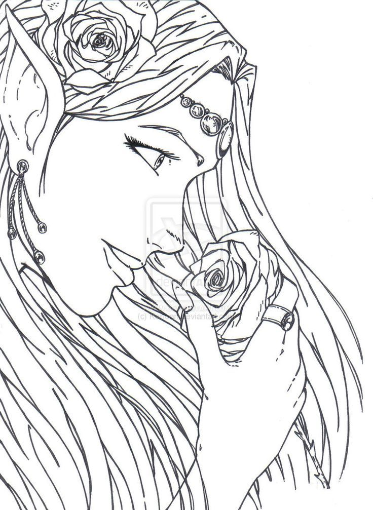 image result for best fairy adult coloring pages