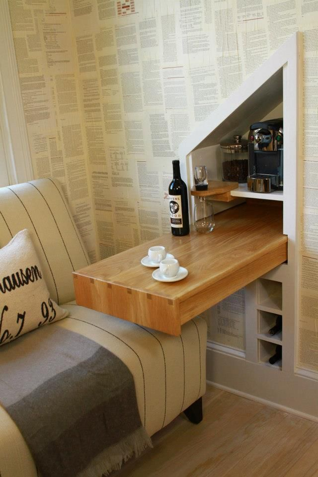 DIY wine/coffee bar for sitting area in master bedroom ...