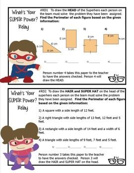 Area, Perimeter, Circumference, Surface Area & Volume Review ...