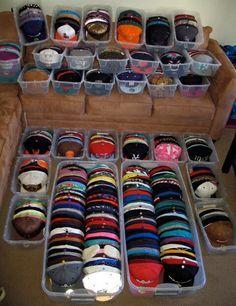 Baseball hat storage... Baseball hat storage... Organize Baseball Hats 59d1e1dd9b2d