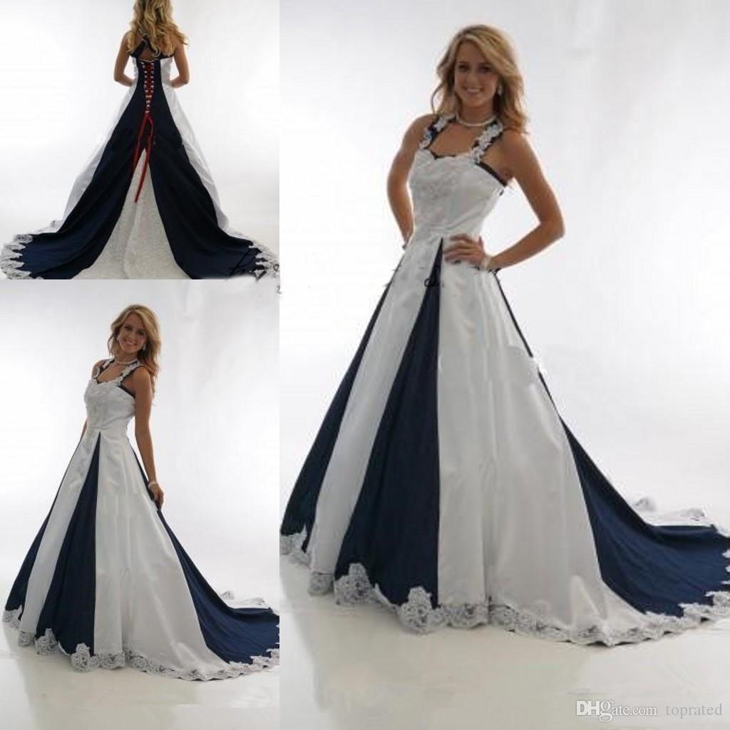 21 Adorable Blue Wedding Dresses For Romantic Celebration Baby Blue Wedding Dresses Blue Wedding Dresses White Bridal Dresses