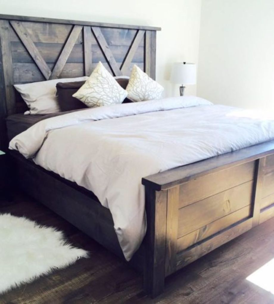 Diy wood platform bed frame nice  creative diy bed frames ideas you will love about