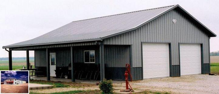 Metal Buildings Hattiesburg Ms and Metal Barn With Living ...