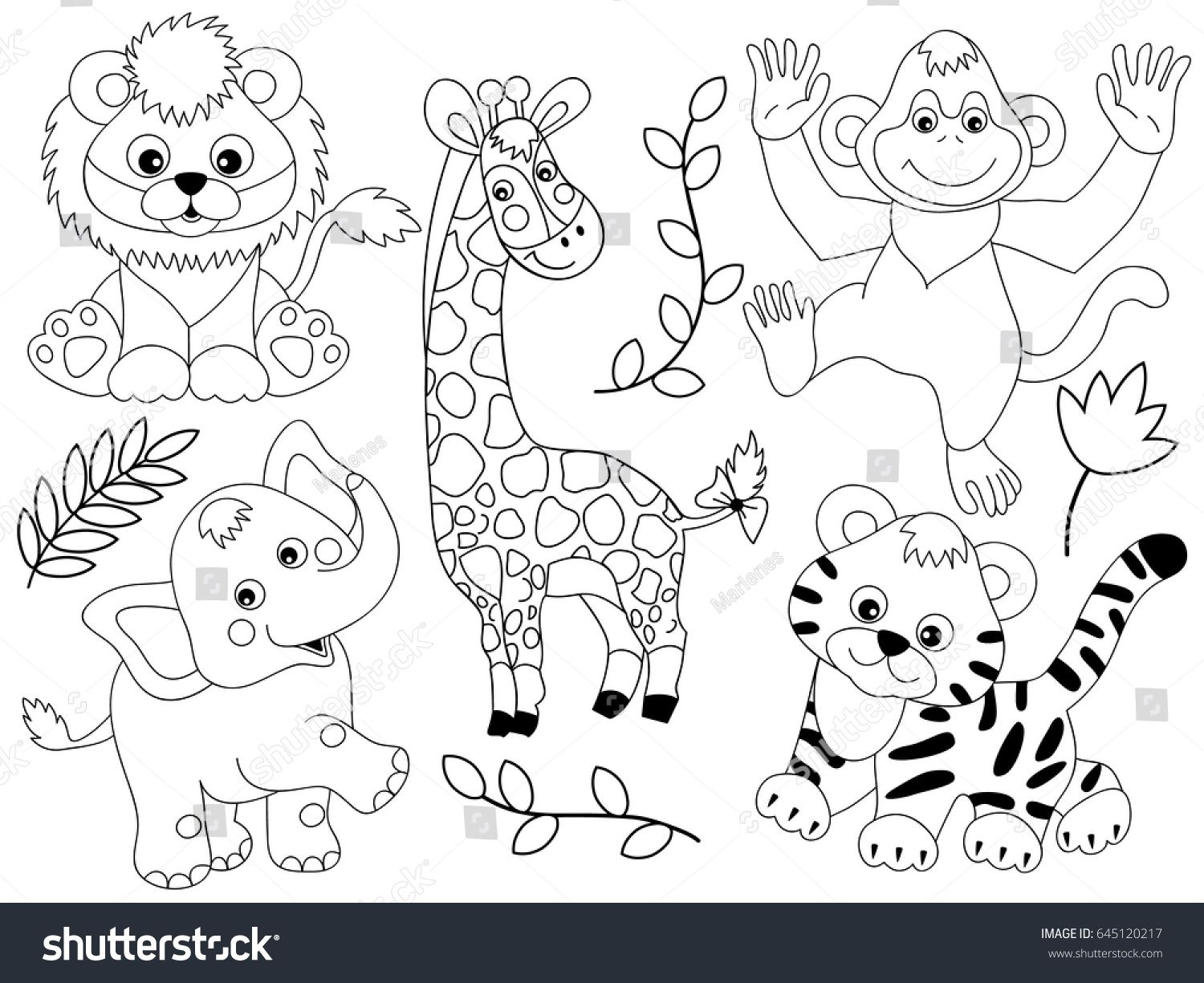 33++ Baby animal clipart black and white info