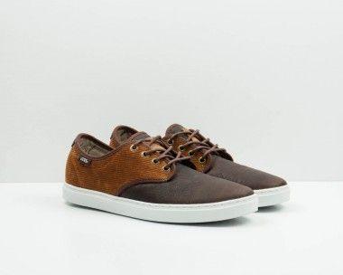 zapatillas vans marron