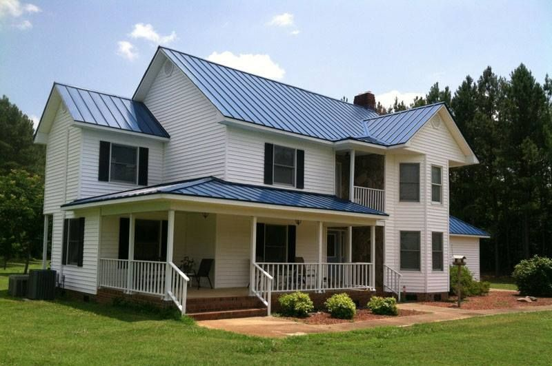 Union S Advantage Lok Ii In Gallery Blue In 2020 Metal Roofing Systems Metal Roof Roofing