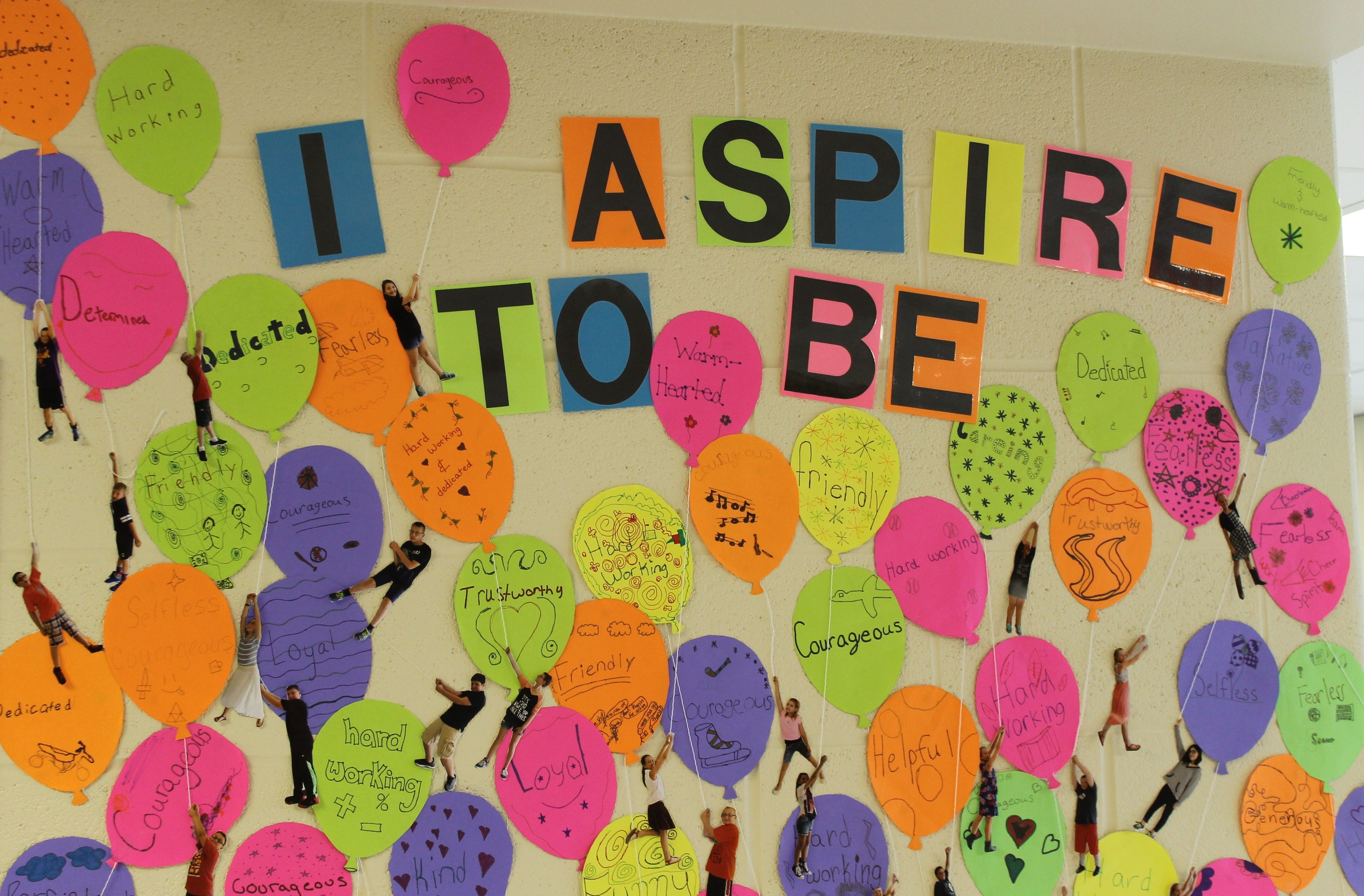 Aspiration Balloons Icebreaker With A Sprinkle Of