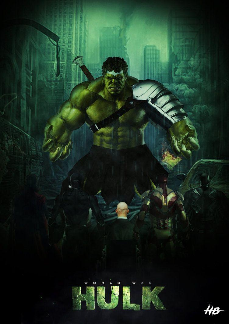 Hulk #Fan #Art  (World War Hulk Battle) By: Hemison  (THE