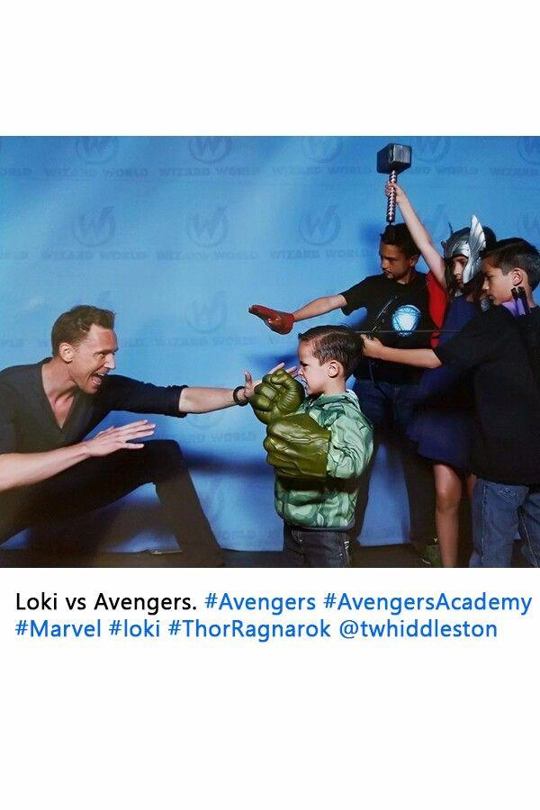 Loki vs Avengers https://twitter.com/atapungot/status/771157089951490048