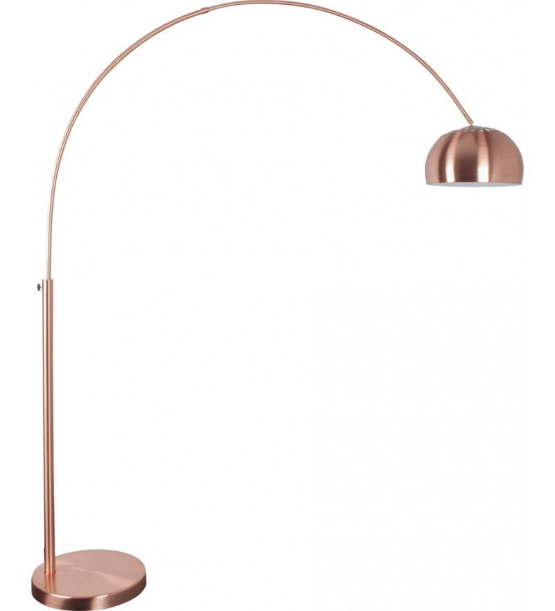 Lampa Podlogowa Metal Bow Zuiver Miedz Pufa Design Lamp Desk Lamp Table Lamp