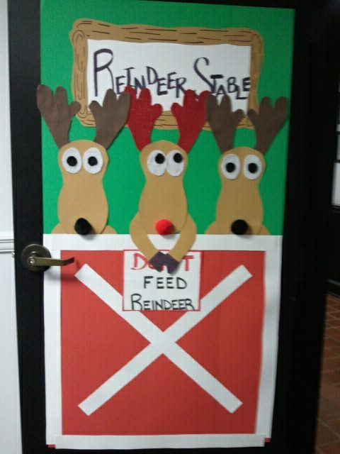 our office door decorating contest entry we find out on the 12th who wins wish me luck