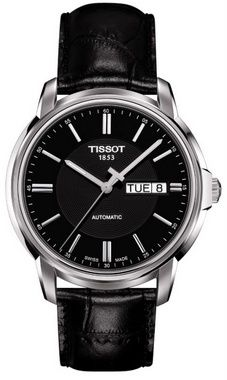 Tissot Black Dial With Date Automatic Watch - T0654301605100