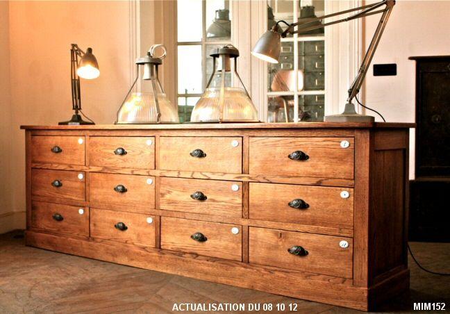 Meuble de m tier meuble quincaillerie meuble de metier mobilier de salon et meuble - Meuble quincaillerie ...