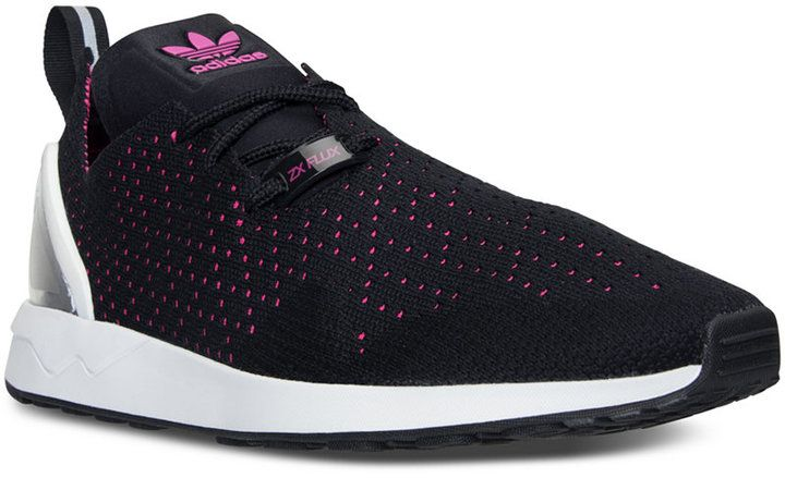 Adidas gli originali zx flusso racer primeknit casual scarpe da