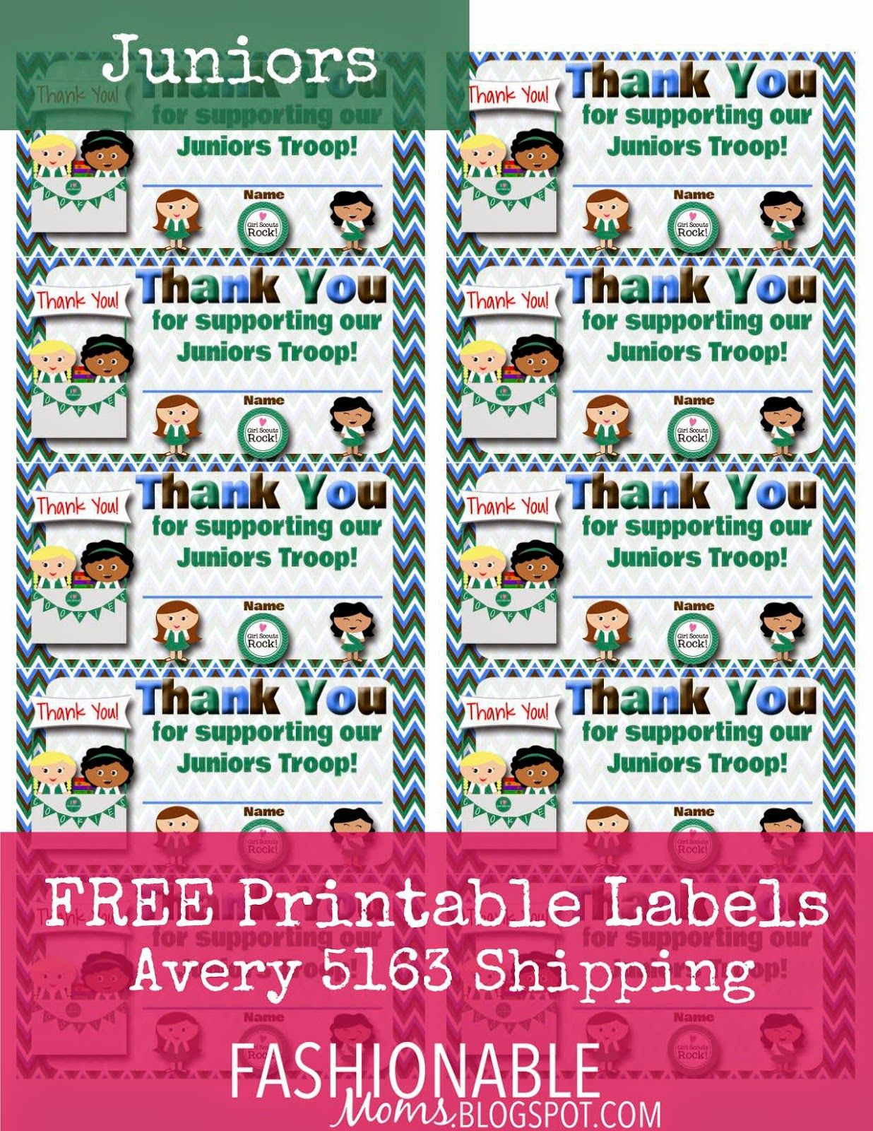 Free Printable Thank You Labels For Cookie Boxes