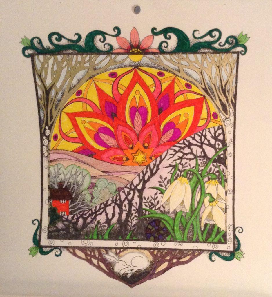 Amanda Clark calendar - february | Colouring pages | Pinterest | Clarks