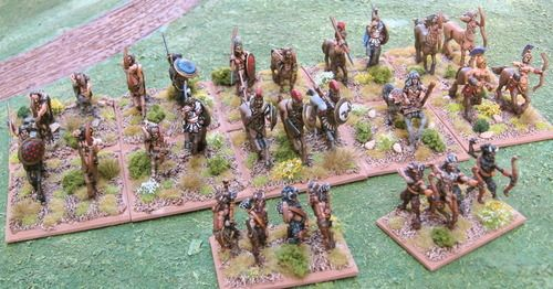 Hordes of the Things | Image | BoardGameGeek - Centaur army