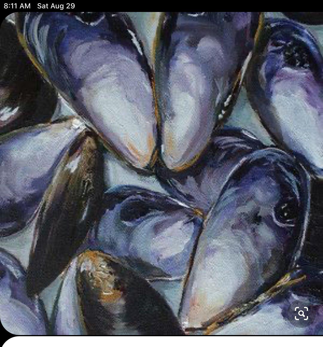 Pin By Molly Gilfillan On Shell Art Sea Life Art Painting Art