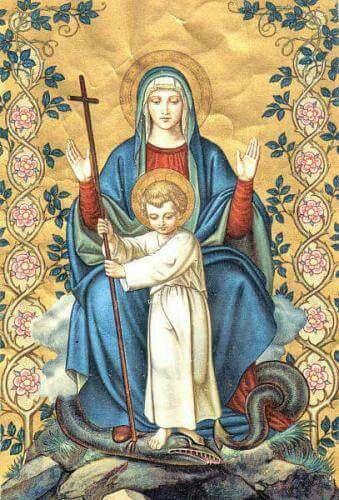 Santa Madre de JESÚS, defiéndenos de todo mal.