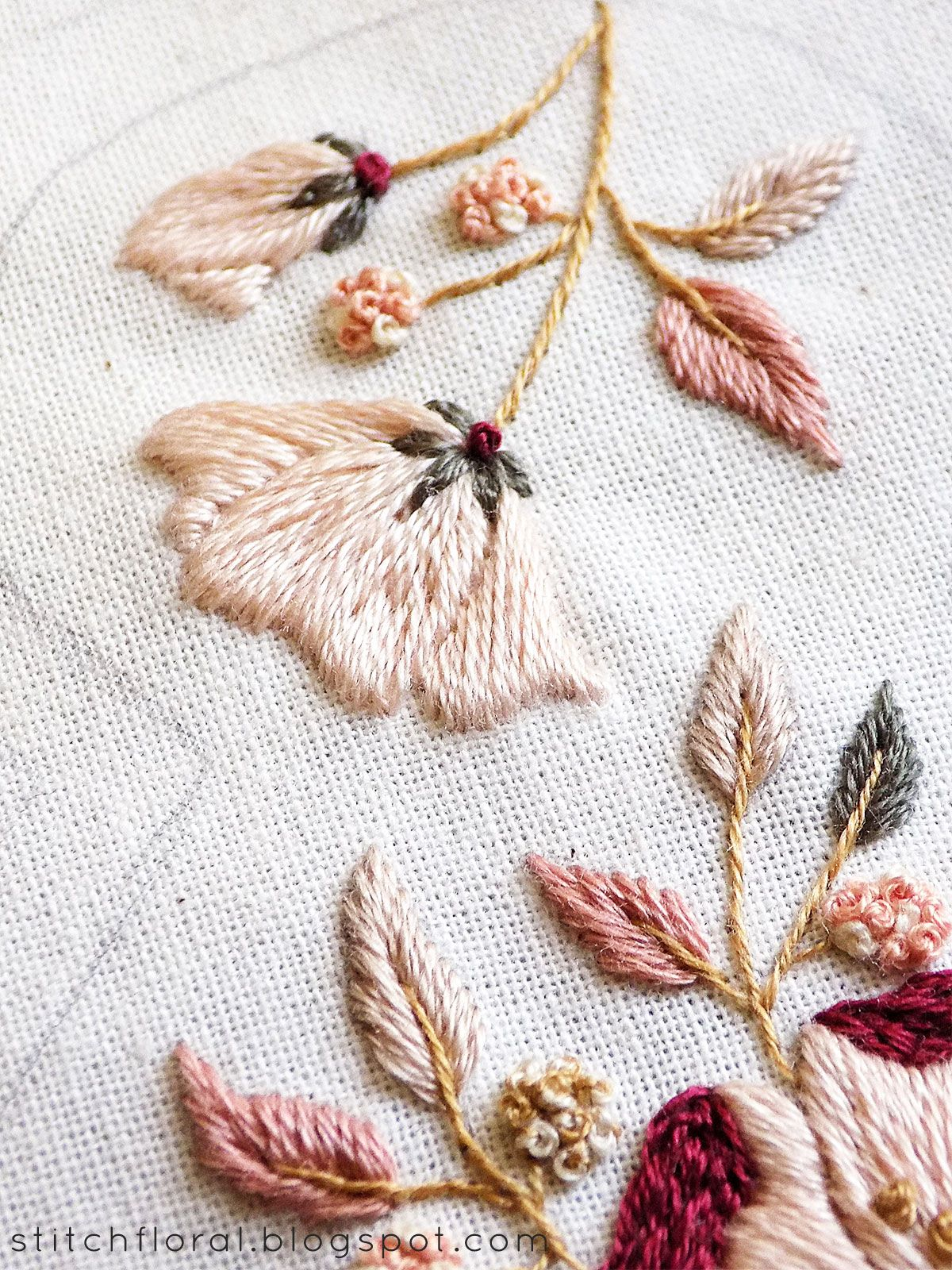 #floralembroidery