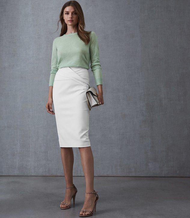 REISS - MAYA CREW-NECK JUMPER | Trendy fashion outfits