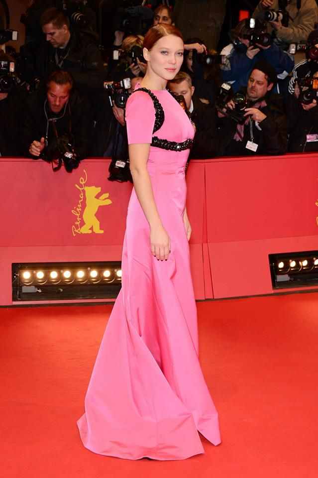 Léa Seydoux with Prada at \'The Grand Budapest Hotel\' première at the ...