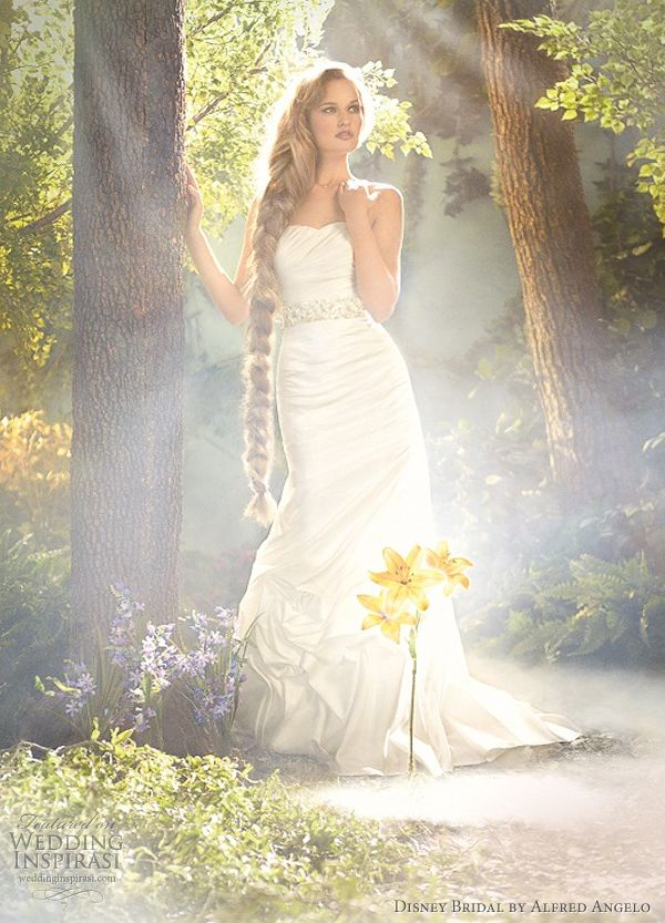 Disney Fairy Tale Weddings By Alfred Angelo 2012 Princess Bridal Gowns