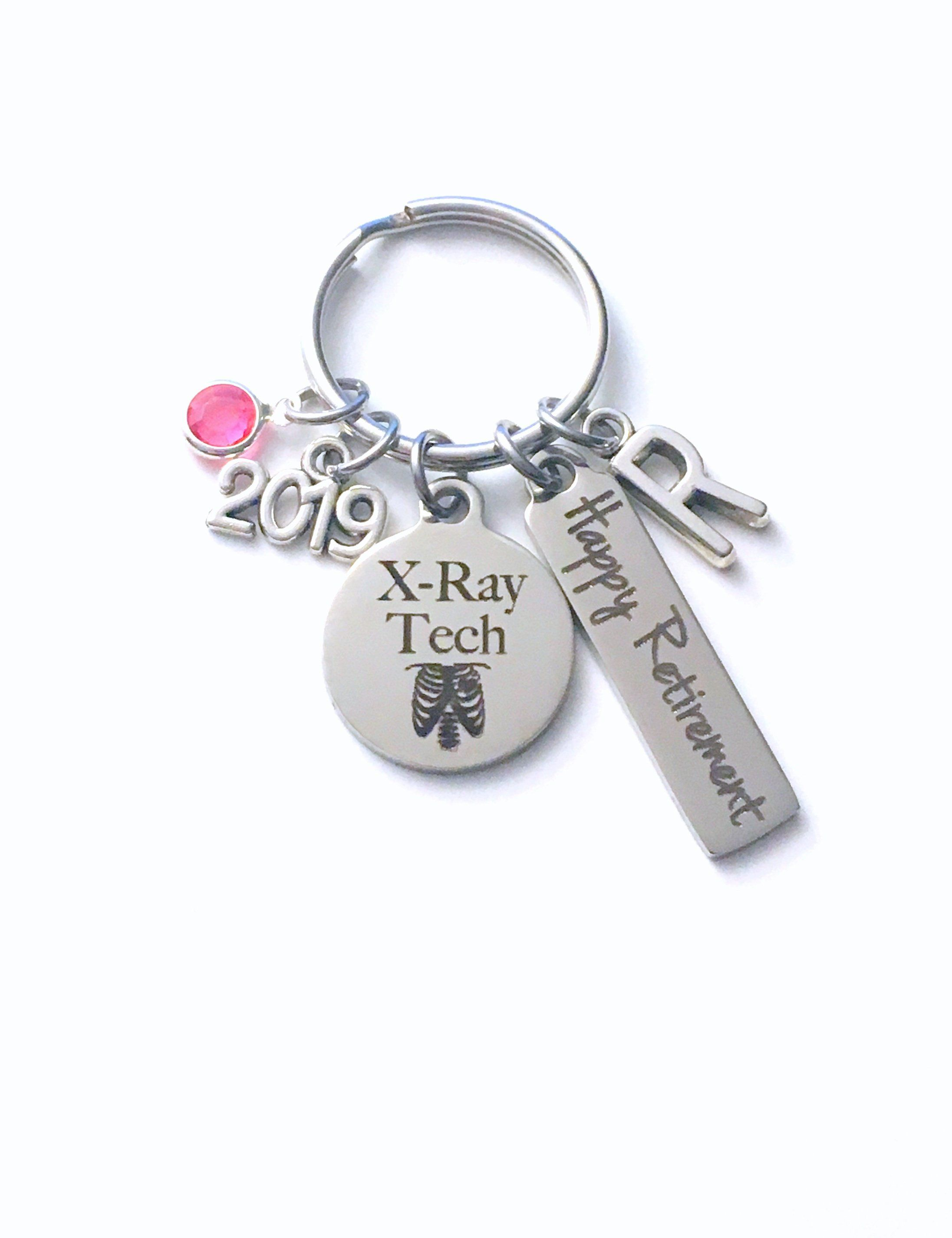 XRay Tech Retirement Gift Key Chain cc801f27a6