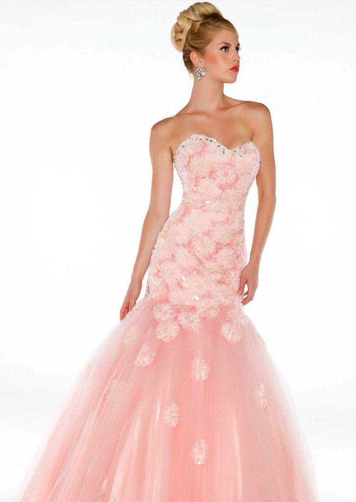 This fairy-tale mermaid ball gown is just perfect for your special ...