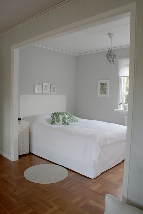 Love The Grey Walls And White Trim Bedroom Nook Bedroom Wall Colors Home