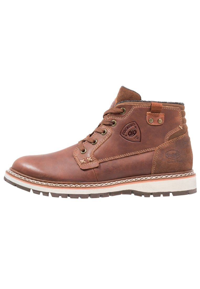 Zapatos marrones formales Dockers by Gerli para hombre SIHDH