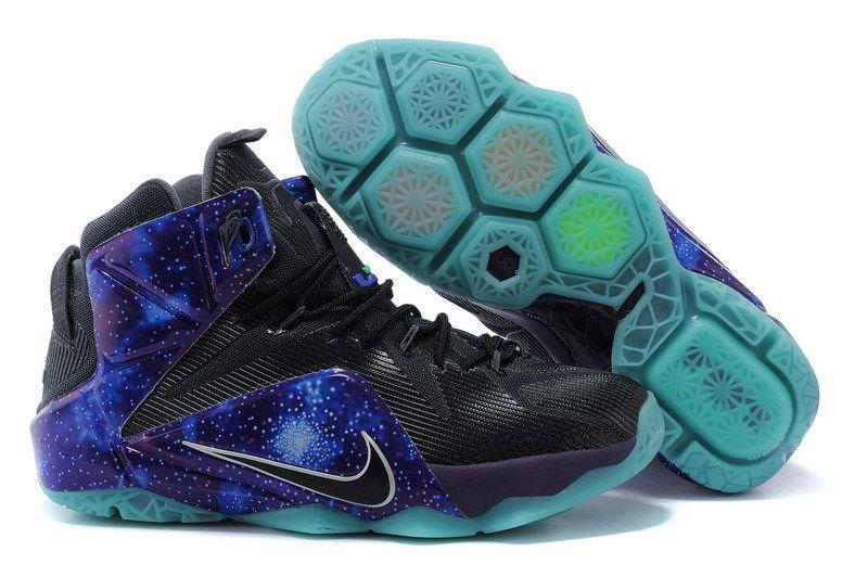 watch e6e6b 35318 Nike LeBron XII EP Black Purple Basketball Shoes