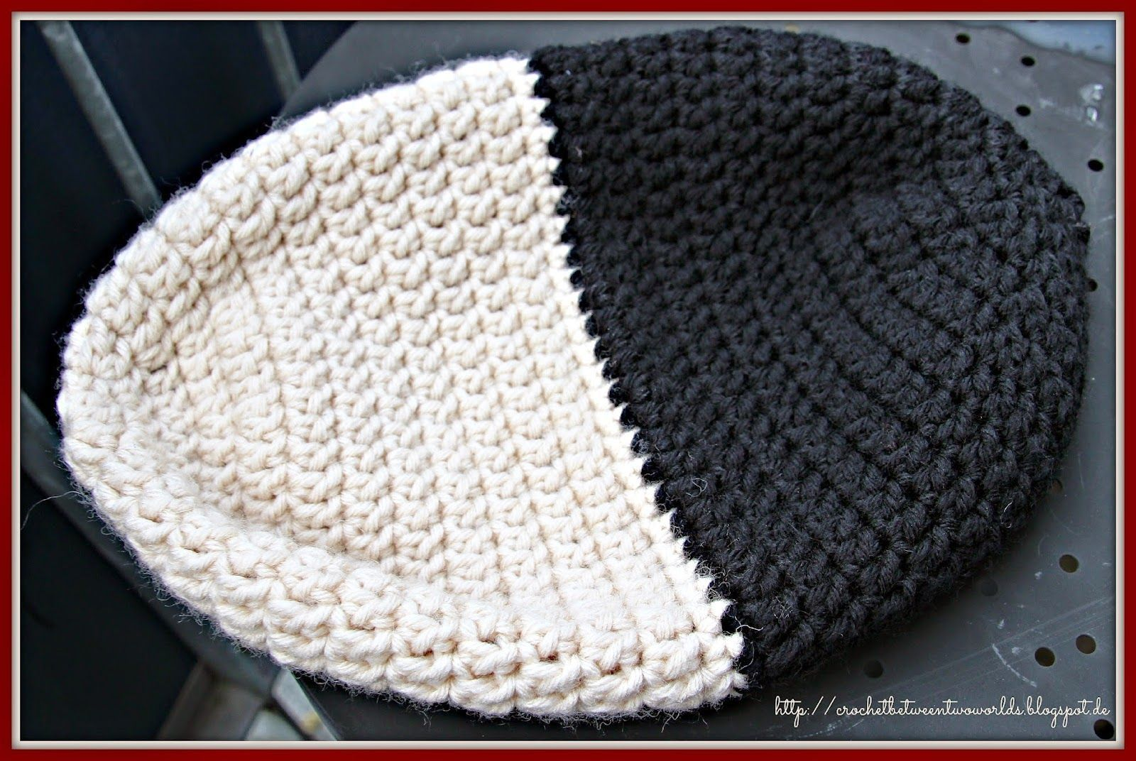Crochet between worlds: Pattern: Reversible Beanie / Double Layered ...