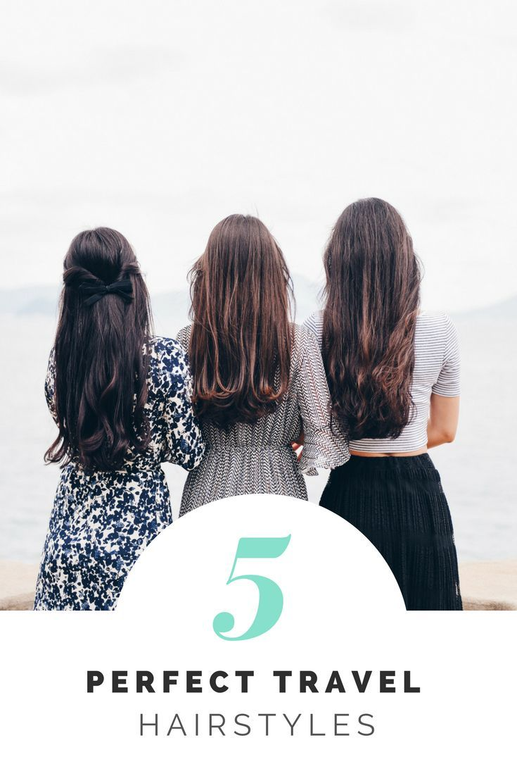 the best travel hairstyles for girls on the road   women's