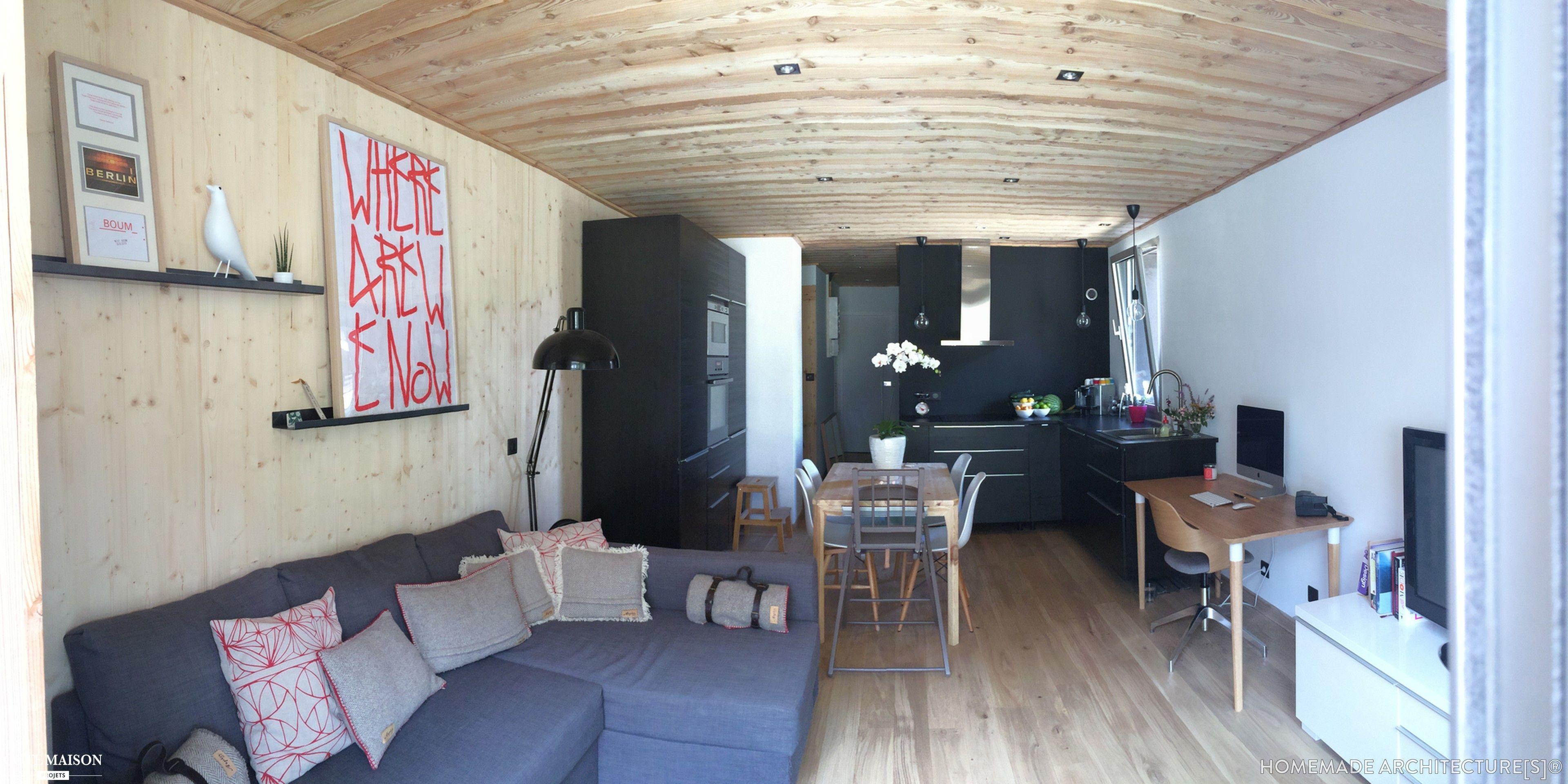 Rénovation Complète D Un Appartement En Station De Ski Rénovation Maison Interieur Maison Décoration Maison