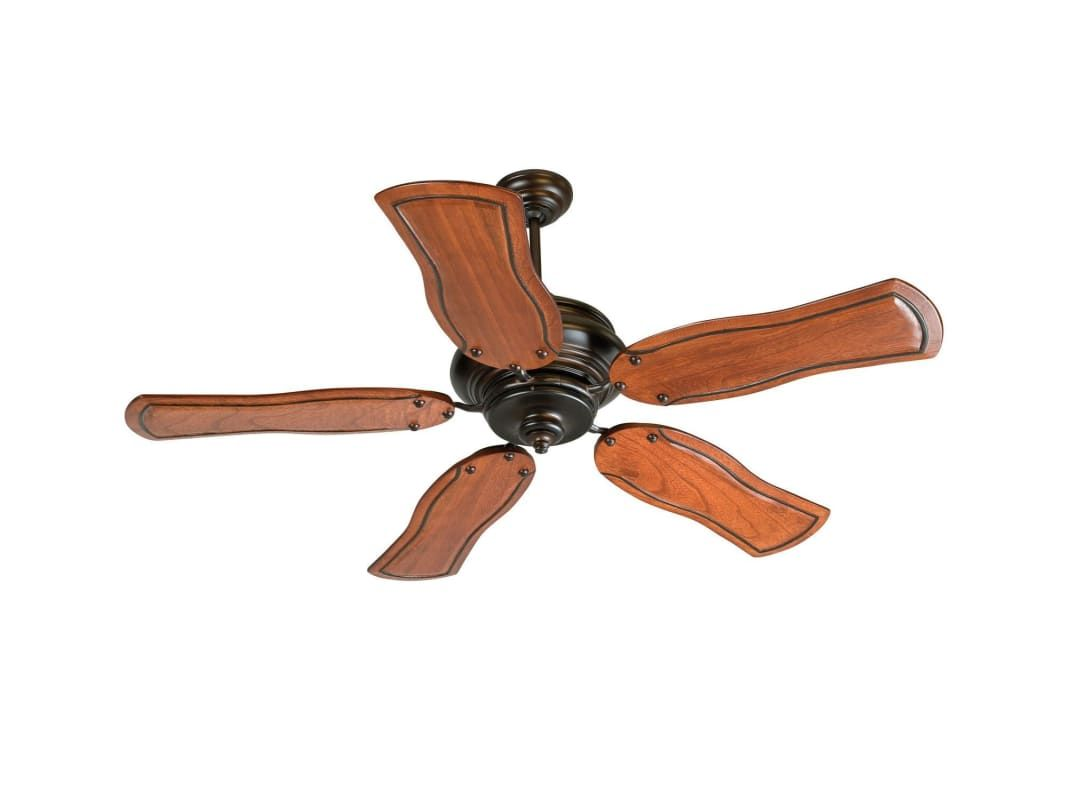 "Craftmade K11022 Townsend 52"" 5 Blade Indoor Ceiling Fan - Blades Remote Includ Oiled Bronze Fans Ceiling Fans Indoor Ceiling Fans"