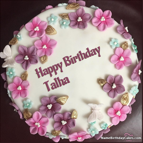 Peachy The Name Talha Is Generated On Happy Birthday Images Download Funny Birthday Cards Online Eattedamsfinfo
