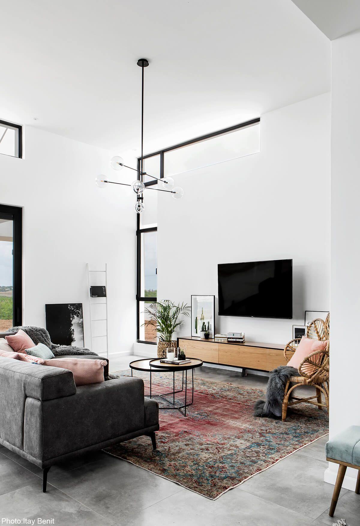 Amazing living in sqm house designed by carmit gat fineshmaker also start your new interior design project delightfull visit rh pinterest