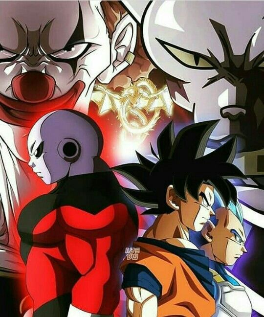 Goku vs jiren l univers de la saga dragon ball sangoku dessin et dessin faire - Dragon images gratuites ...