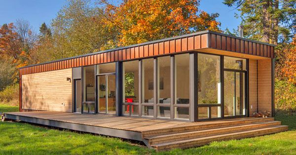 Micro Mansions Are The New Craze Small Prefab Homes Method Homes Modern Prefab Homes