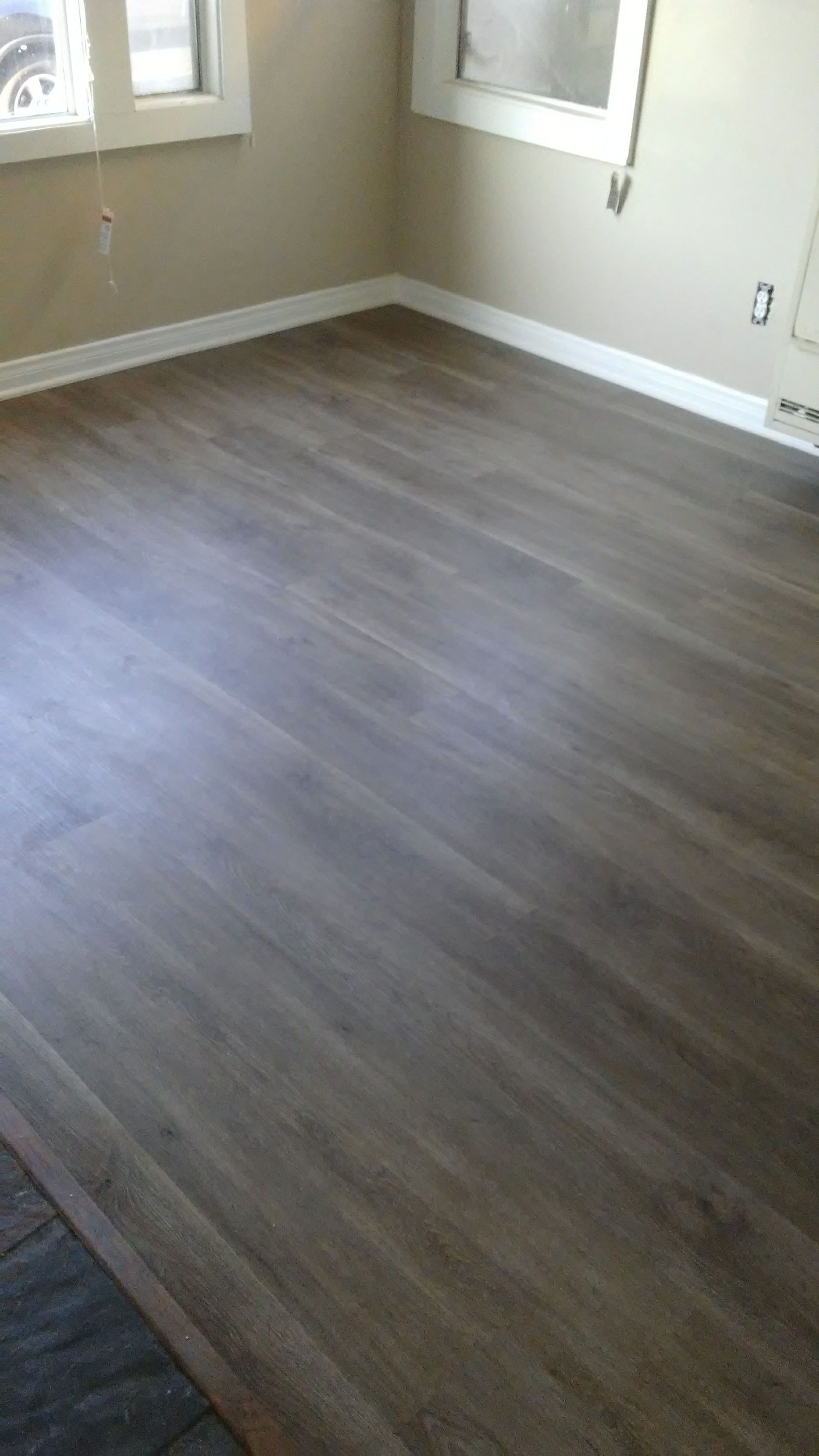 Click Vinyl Plank floors have a natural wood look and its easy to