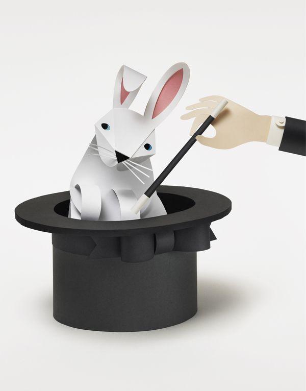 Akademikerförsäkring on Behance - paper art/paper craft/paper cut by Fideli Sundqvist