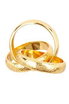 Gorjana Infinity Ring - Size 6