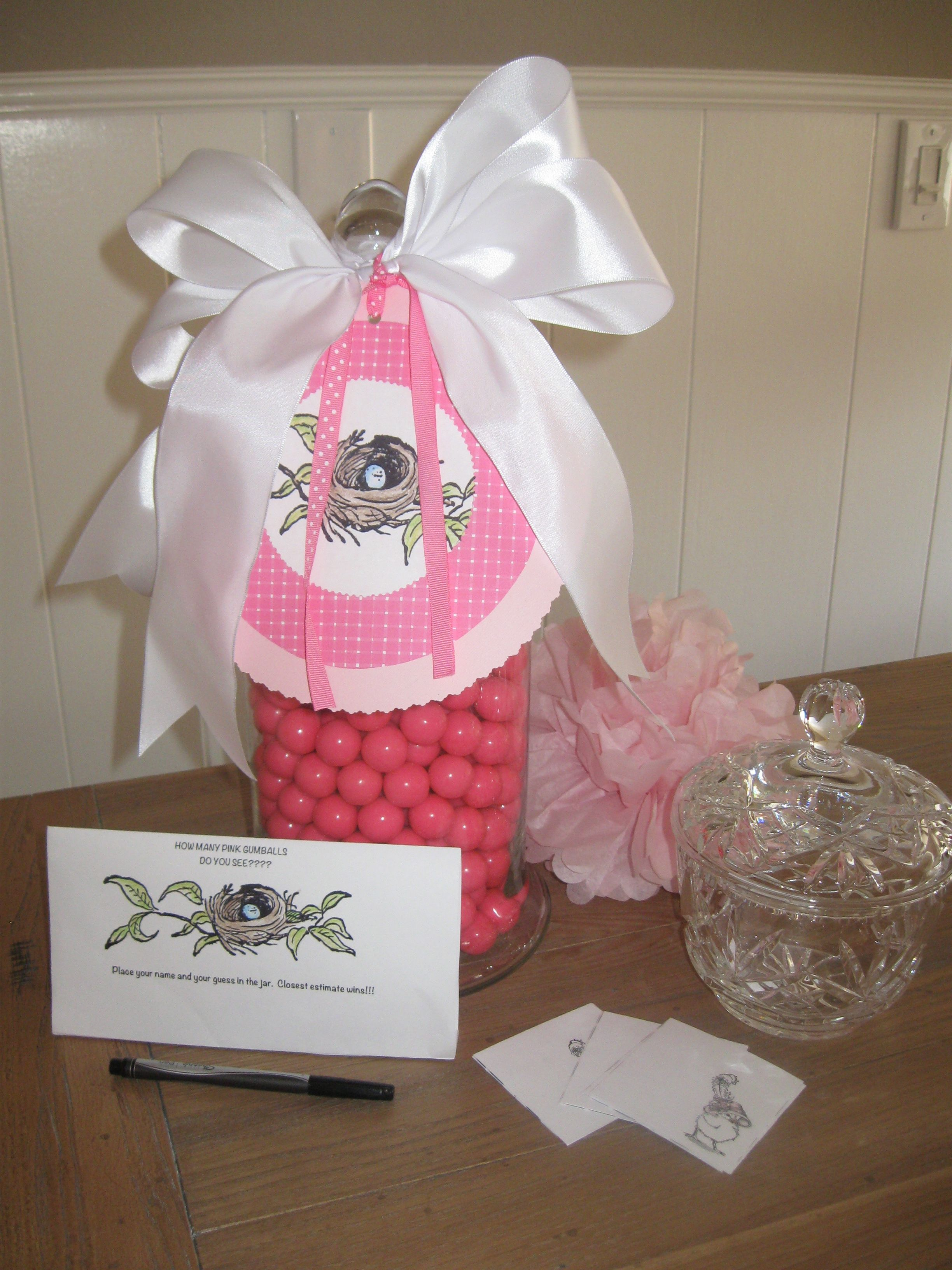 Gumball party game. | Vivian\'s Baby Shower | Pinterest | Party games ...