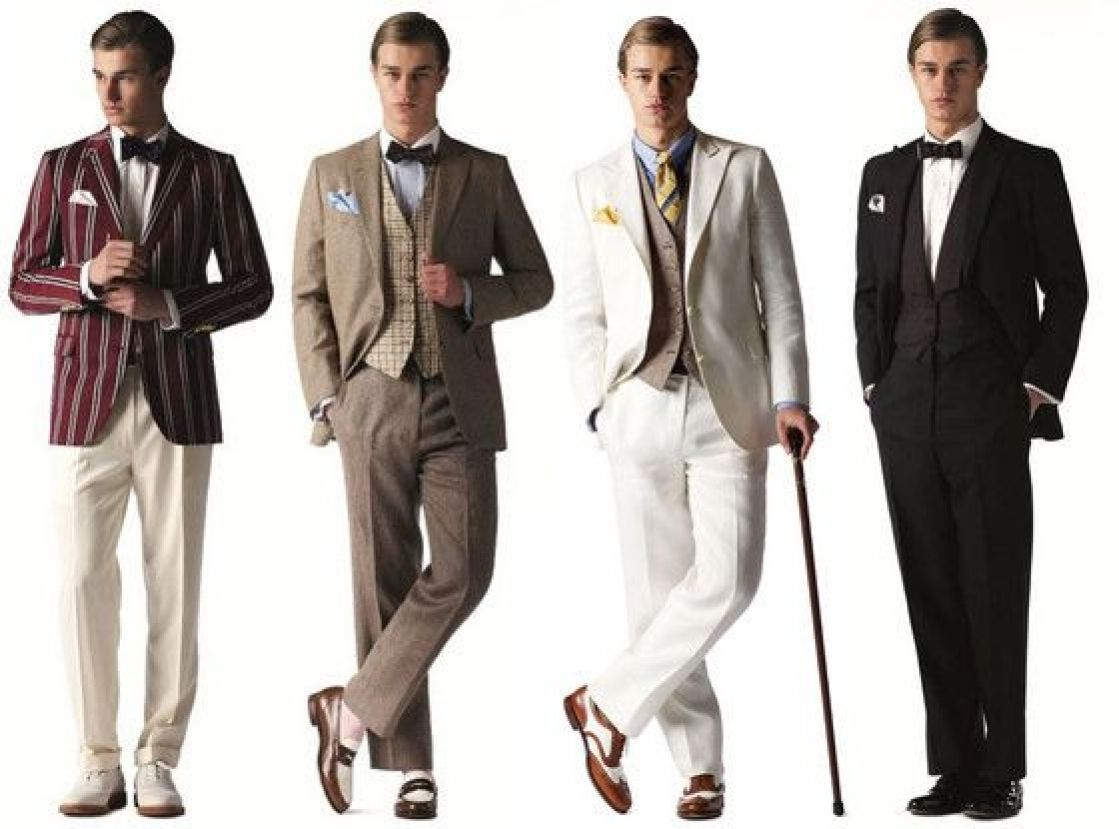 Great Gatsby Men's Fashion & Brooks Brothers Clothing ... |The Great Gatsby Fashion Men