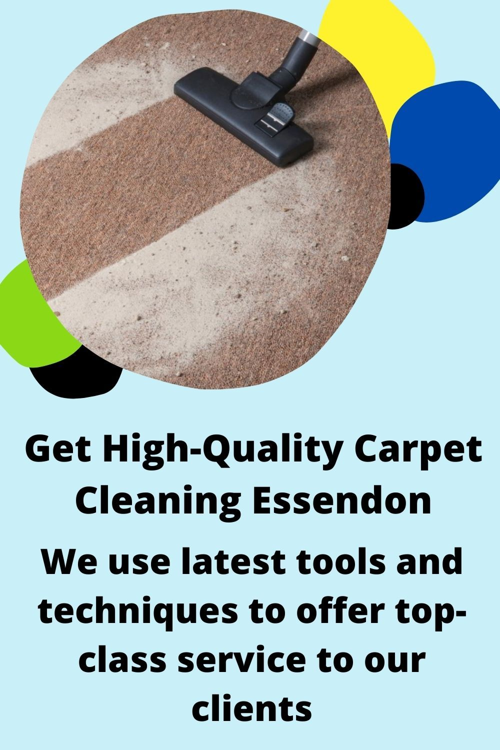 Hire the expert of making your carpet spotless. We provide the perfect services for our client's services like Carpet Steam Cleaning Service, Carpet Dry Cleaning Service and End of Lease Cleaning Carpet Services, reasonable cost. We also offer same-day booking services. #carpetcleaning #residentialcleaning #carpetcleaningservice #carpetcleaner #Essendon