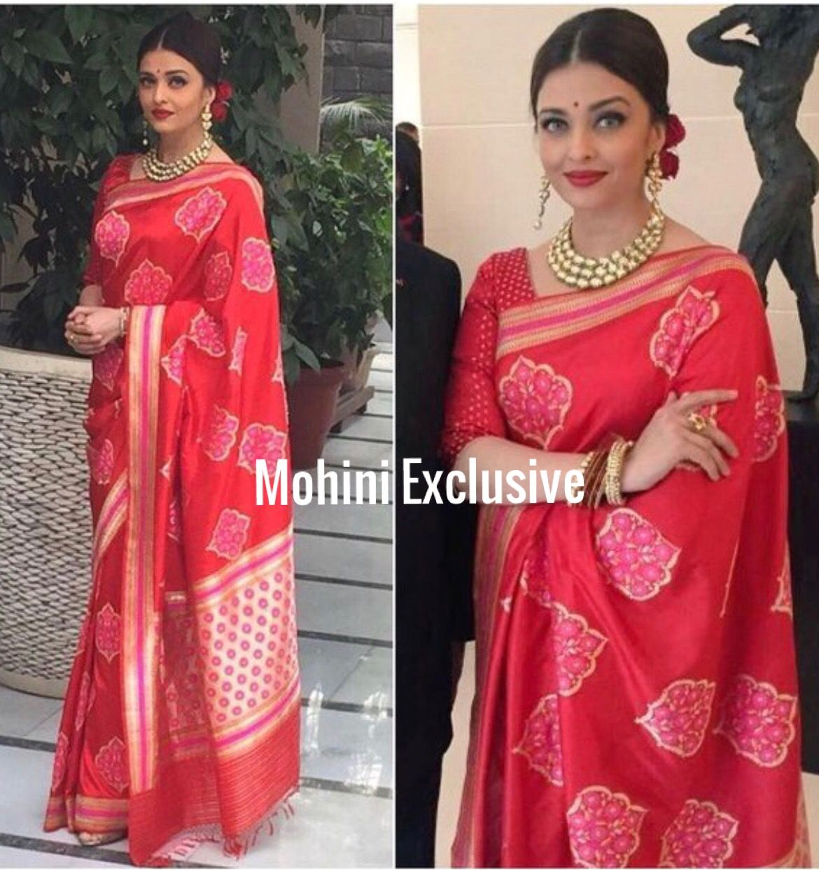 Aishwarya Rai Silk Saree Saree Hairstyles Saree Designs Elegant Saree